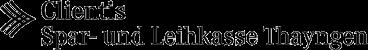 Clientis Spar- und Leihkasse Thayngen AG
